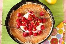 ♨Desserts & Sweets♨ / Dessert is a typically sweet course that concludes a meal. The course usually consists of sweet foods, but may include other items.  There is a wide variety of desserts in western cultures including cakes, cookies, biscuits, gelatins, pastries, ice creams, pies, puddings, and candies. Fruit is also commonly found in dessert courses because of its natural sweetness / by Lisa Warren 👣 🌊 💋