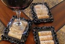 Decorations with cork