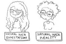Natural is my beauty / It's yours. Own it.