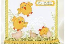 Punch art Easter/Pasen