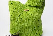 Crochet and knitted handbags / Crochet handbags