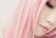 Hair color / by *Kodomis* Mori & Kawaii