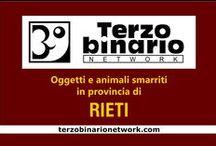 RIETI / Oggetti e animali smarriti in provincia di Rieti