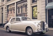 Luxury Car Hire for Weddings and Events / Arrive in style with these gorgeous, luxury cars for hire for weddings and events!