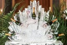 Ice Sculptures for Weddings / Ice art - for decoration or the perfect way to serve vodka? Get creative with these magnificent ice sculptures for weddings and luxury corporate events!