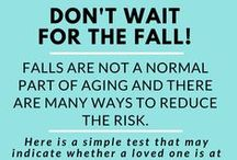 Fall Prevention / Tips on preventing falls both inside and outside the home.