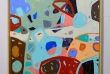 New abstract expressionism curated by Katherine Henning