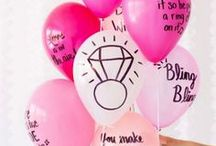 Bachelorette Party Ideas / Bachelorette party Ideas, Decorations & Themes. Host a bachelorette party to remember with these plates, cups, decorations, favors, catering ideas and other bachelorette party supplies and activities.