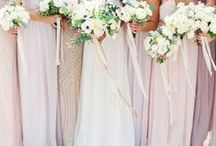 Spring Wedding Ideas / Spring wedding inspiration from color palettes, ceremony decor and other spring wedding details. Soft, muted colors and textures make for an elegant Spring wedding celebration.One of the most beautiful times of year to tie the knot, spring weddings are full of pretty yellows, greens and classic ivories. You'll also have a whole raft of gorgeous flowers to incorporate in your theme too! The combination of new buds in bloom and clean, fresh air also makes taking photos a breeze!