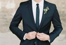 Being a Groom: Ideas and Tips / There's no room for cold feet here! Find the perfect wedding tuxedo, get some speech inspiration and ladies, you'll even find some gift ideas for the groom!