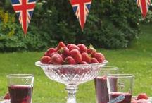 British Themed Party Ideas / British party Ideas, Decorations & Themes. Host a British party to remember with these plates, cups, decorations, favors, catering ideas and other British party supplies.
