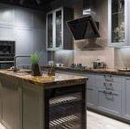 Rustikální kuchyně / Rustic kitchens