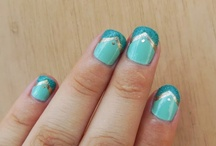 My cute nails / Perosnal swatches by Kali @ Kalinowliving.blogspot.com