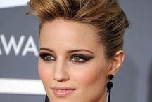 penteados / com cabelo arrumado, toda mulher pode mostrar seu potencial...