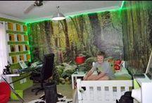 wacky designs / kids bedrooms