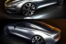 Automobile Exterior Design/Sketch