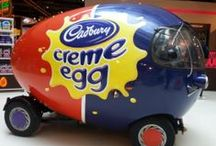 Cadbury's Creme Egg / The Creme Egg comes around once a year, just for the Easter period, so make the most of them whilst they are here! Eat them, cook with them, create things with them, do as you please, but most of all enjoy them!