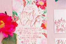 Color Palette / Colores de inspiración para la boda de tus sueños