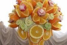 ideas lindas con comida