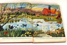 Ladybird and C.F.Tunnicliffe illustrations...beautiful!