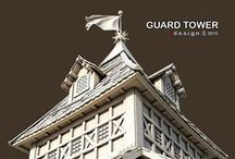 2015_GUARD TOWER / epic : guard tower sketchup + vray for sketchup + ps. http://zdesigninfo.blogspot.ae/2015/08/epic-guard-tower-final.html
