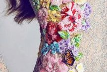 Grace Lane loves embroidery / oh so inspiring couture embroidery