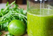 Sauces, dressings and smoothies / Fresh home made dressings,dips, sauces and smoothies