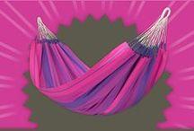 Hammock Orquidea purple / The magnificent colours are like flower bouquets for your balcony or garden.  /// Die prächtigen Farben sind ein wahrer Blumenstrauß für Ihren Balkon oder Garten. /// Un vrai bouquet de fleurs pour votre jardin ou votre balcon
