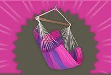 Hammock Chair Orquidea purple