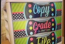 Classroom Organization / This board is dedicated to ideas to get your middle or high school class organized.