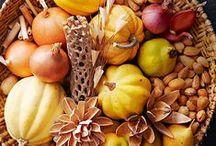 Fall, autumn decor