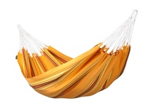 Hammock Currambera apricot / Our hammock line Currambera with its wide range of available colours and large variety of products is particularly popular. Hammock Currambera apricot is made of pure, high-quality cotton. It is from Colombia, where hammocks have always been an essential part of everyday life.