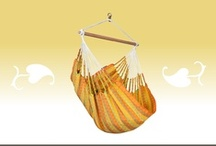 Hammock Chair Carolina citrus / Hammock Chair Carolina citrus comes from Colombia and is made of pure cotton. A LA SIESTA star!