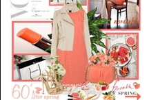 """""""Pretty as a Georgia Peach""""  / Simply a variety of beautiful items such as clothing, accessories food etc. in my favorite color - Peach. / by Estelle Lynch"""