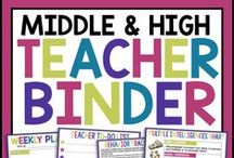 Middle High English Resources / This board includes English language arts activities, lessons, unit plans, and teaching ideas for middle and high school.  Some of my most popular resources include English bell-ringers, interactive activities, escape rooms, writing activities, reading activities, and much more!
