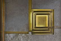 #SCARPA / The attention to detail of renowned architect Carlo Scarpa -  June 2, 1906 – November 28, 1978. Join the brass and intricately layered concrete journey.