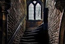 Stairways / Who knows where they lead.