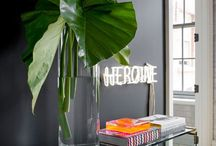 #FLORA interiors / Interiors with #plants