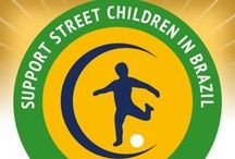 """Dito Escolinha / Support street children in Brazil! The beach soccer academy """"Dito Escolinha"""" is offering children and teenagers in Fortaleza alternatives to a criminal lifestyle and drugs by creating better prospects for them. """"Dito Escolinha"""" will directly benefit from every sold COPA double hammock by LA SIESTA."""