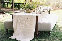 DINNER PARTY / Table setting, and dinner party ideas