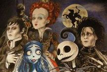 Burtonesque / The gorgeously eerie worlds of Tim Burton, and kindred.