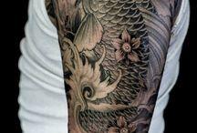 Tattoo/ Koi