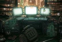 Cyberpunk / Steampunk / Post Apocalypse / by acidburn404