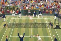 Wimbledon 'Pop Up' / All things Wimbledon Inspired