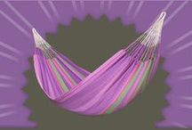 Family Hammock Flora Blossom / Extra-large family hammock FLORA blossom, made of organic cotton and certified by GOTS.