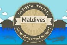 La Siesta presents - Maldives! / Hammocking around the world! La Siesta @ Maldives!