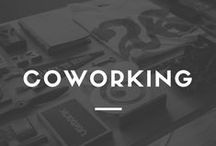 Coworking Tips + Tricks / The idea of co-working is to bring bright, creative people together and let the ideas collide.