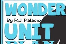 Teaching Wonder By R J Palacio / This board is dedicated to teaching resources for R J Palacio's best-selling novel Wonder!