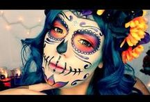 Halloween Tutorials / Step up your Halloween costume game with a full-face of holiday glam!