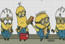 Embroidery - Minions